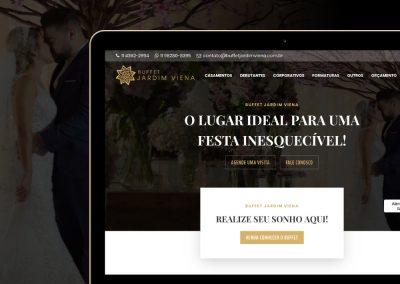 Site de Buffet para Casamento - www.buffetjardimviena.com.br