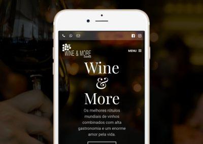 Site de Especialistas em Vinhos - www.wineandmore.com.br