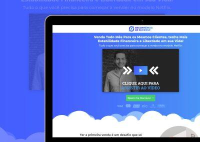 Página de Vendas Recorrência de Sucesso - www.recorrenciadesucesso.com