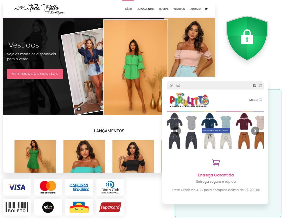Loja virtual venda online segura